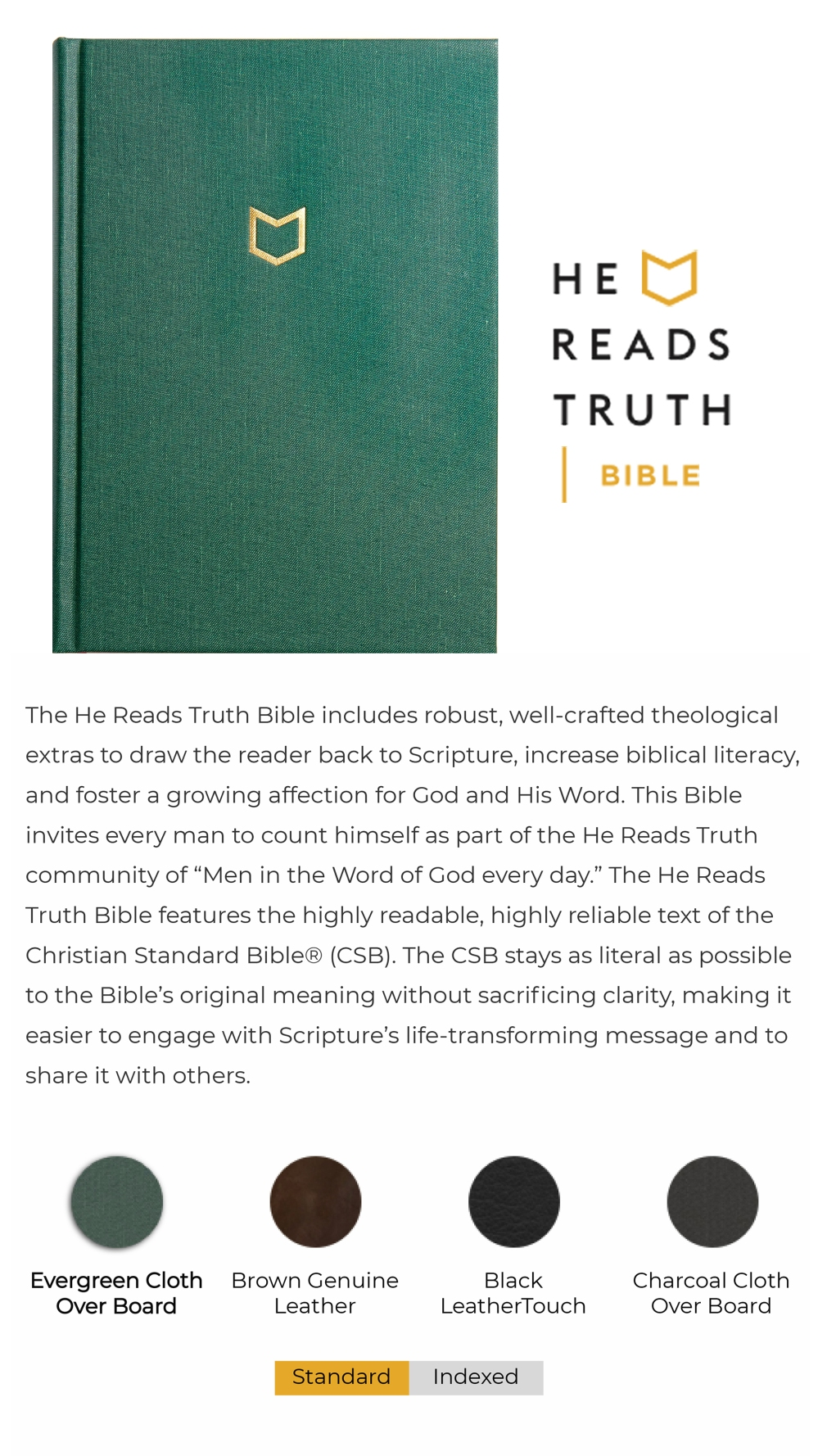 He Reads Truth Bible_About